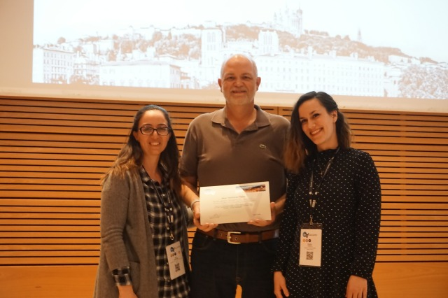 Web4All Challenge winners: Yeliz Yesilada (Middle East Technical University), Ted Drake (Intuit), and Victoria Yaneva (University of Wolverhampton)