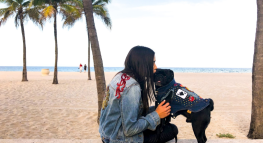 """We The Prosperous"" – Meet Melissa, A Self-Employed Rockstar Creating Denim Jackets for Dogs"