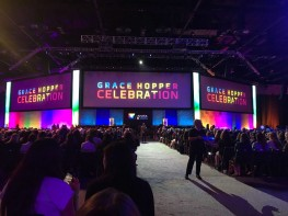 """So Glad We Were There"": Raji Arasu Reflects on Grace Hopper Celebration 2018"