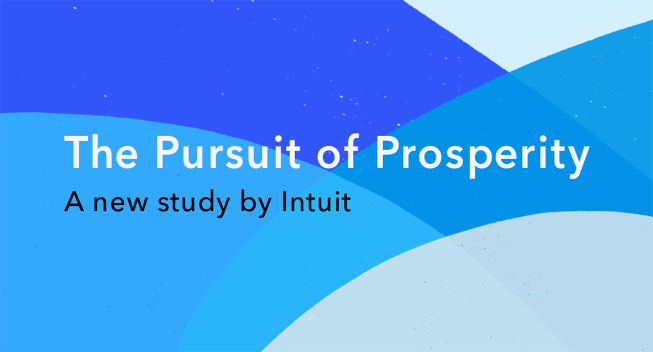 The Pursuit of Prosperity study by Intuit