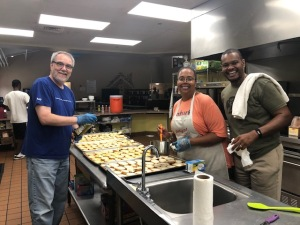 Intuit Fredericksburg employees volunteering