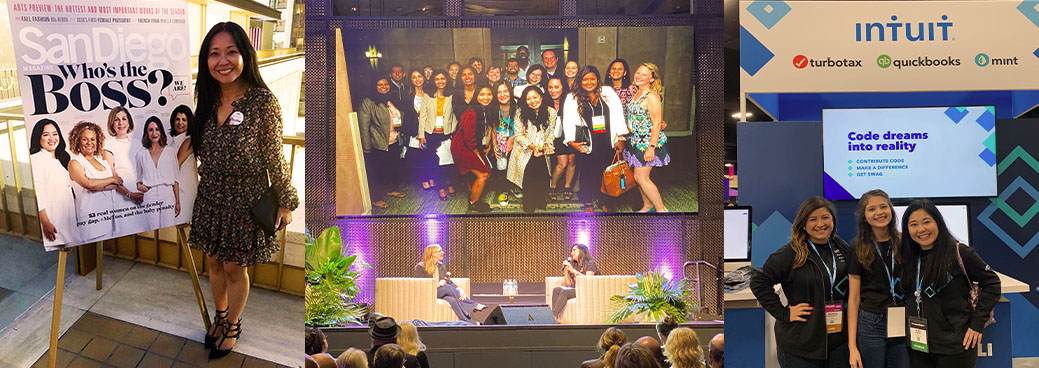 "Tech Women @ Intuit at San Diego Magazine's ""Behind the Brands"" and DeveloperWeek events"