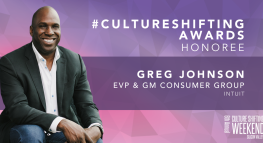 Intuit EVP & GM Greg Johnson Honored with Culture Shifting Award