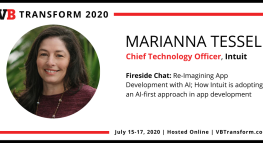 2020 Conferences from Home: VentureBeat Transform 2020 – AI-First App Development