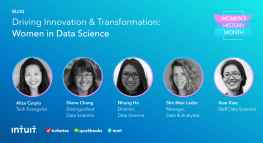 Driving Innovation & Transformation: Women in Data Science