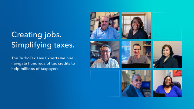 Creating Jobs and Simplying Taxes - Intuit's Tax Experts