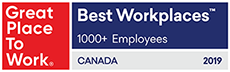 Intuit Canada Great Place to Work 2019