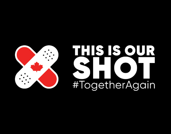 This is our shot #TogetherAgain