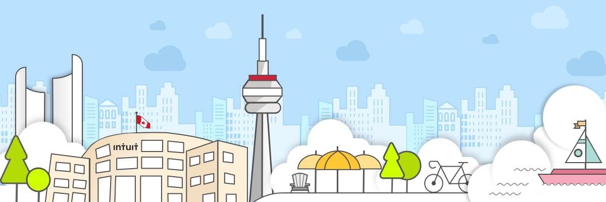 Toronto illustration