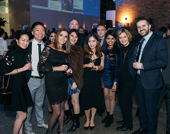 Intuit Employees at an Event