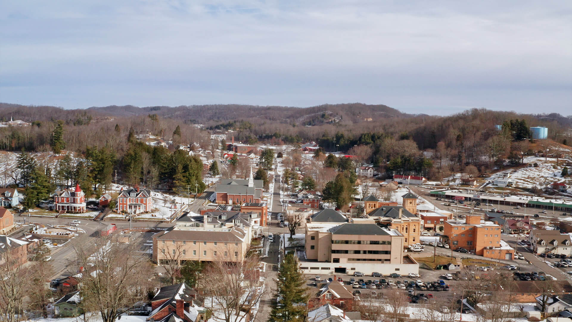 Intuit prosperity hub - Image of a small town in the US