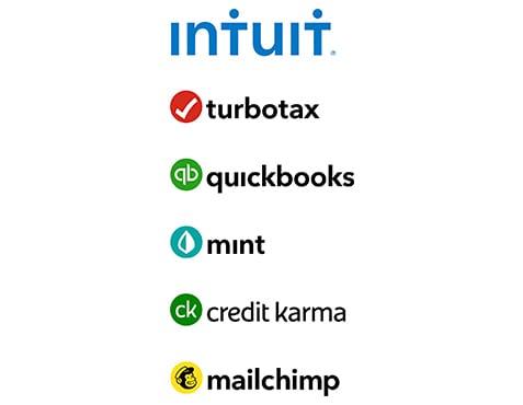 5-line vertical Intuit ecosystem logo